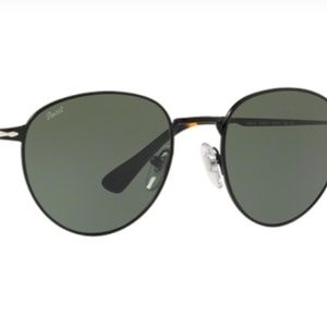 Authentic Persol 2445S 107831 Sunglass Black/Brown